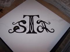 Логотип из плитки